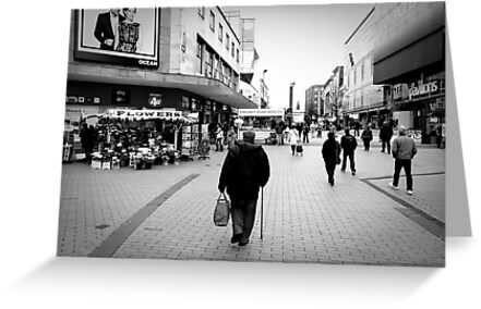 Walking away by Barry Robinson