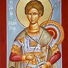 St Dimitrios the Myrrhstreamer by ikonographics