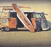 Kombi Love by Sharon Poulton