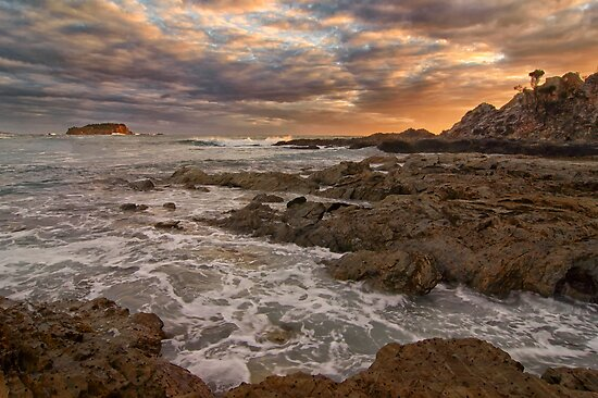 Rocky Sunrise by Dianne English