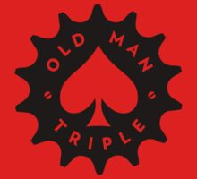 OMT Cog Logo - Black with Cutouts by OldManTriple