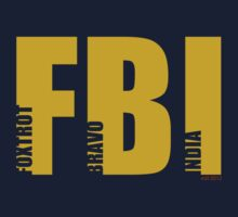 FBI (NATO phonetic) by Sam Cain