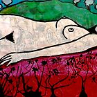 Nude in a Landscape 1 -  Mixed Media by Belinda &quot;BillyLee&quot; NYE (Printmaker)