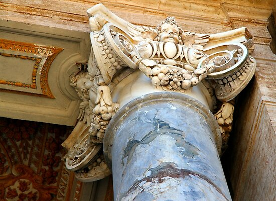 Pillar Capital - St Peter's Church - Vatican City - Rome by Samantha Higgs