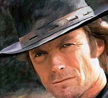 Clint Eastwood by artbyjames
