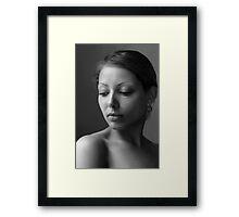 Modesty Framed Print
