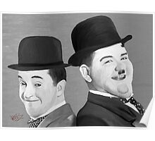 Laurel and Hardy Poster