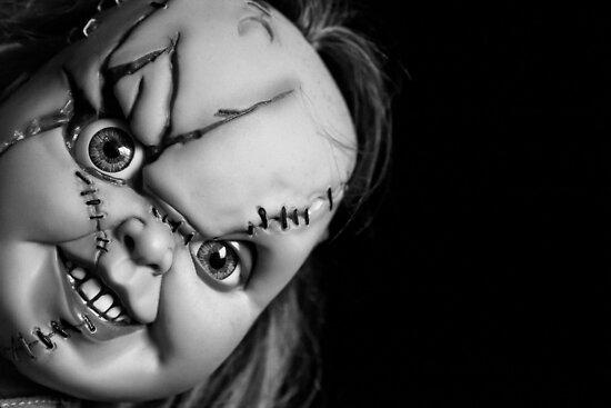 Chucky... by Linda  Morrison