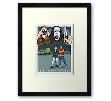 Bill and Ted - Totally Non-heinous Framed Print