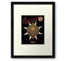 Lemarchand's Cube - Hellraiser Framed Print