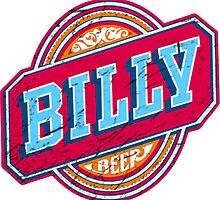 Billy Beer (Vintage) by Look Human
