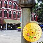 The Yellow Umbrella by KristaDawn