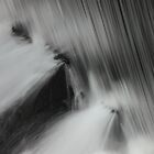 Winters waterfall brecon beacon wales by blakmountphoto