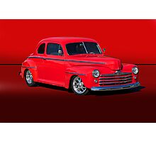 1947 Ford Super Deluxe Coupe w/o ID Photographic Print