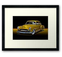 1950 Chevrolet Fleetline Custom w/o ID Framed Print