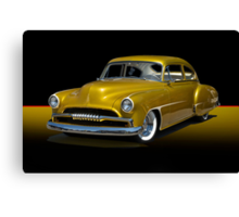 1950 Chevrolet Fleetline Custom w/o ID Canvas Print