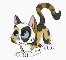 Little Calico cat by davuu