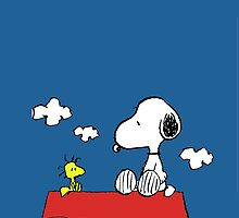 Snoopy  Overlook by gleviosa