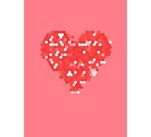 Pixel Love Photographic Print