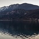 Lake Annecy - French Alps by Joshua McDonough