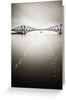 Forth Bridge Traffic by RunnyCustard