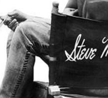 Steve McQueen Sticker