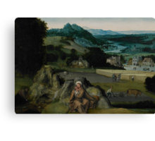 The Rest on the Flight into Egypt (The Miraculous Field of Wheat) c.1518-24  Canvas Print