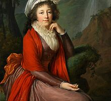 Portrait of Countess Maria Theresia Bucquoi, 1793 by Bridgeman Art Library