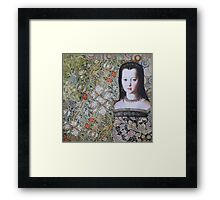 Lost In The Garden Framed Print
