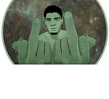 Nick Diaz by Case Harts