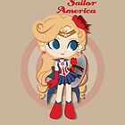 Sailor America - Avengers by CptnLaserBeam