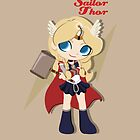 Sailor Thor - Avengers by CptnLaserBeam