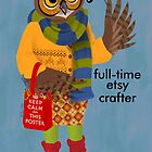 Crafty Owl by Dyna Moe