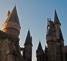 Hogwarts in the Morning by EJaworski