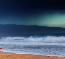 Pipeline Surfer 13 by Alex Preiss