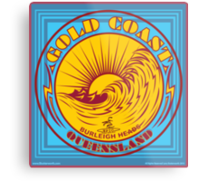 GOLDCOAST, QUEENSLAND, SURFING Metal Print