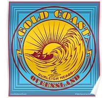 GOLDCOAST, QUEENSLAND, SURFING Poster