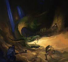 Dragon Warriors Bestiary by Jon Hodgson