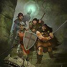 Dragon Warriors by Jon Hodgson