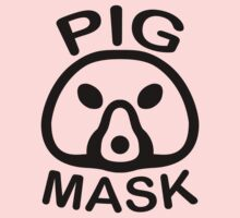 Pigmask (Black) Kids Clothes