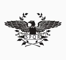 S.P.Q.R.  black eagle by saviorum