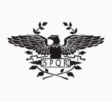 S.P.Q.R.  black eagle by saviorum