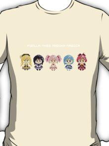 Puella Magi Madoka Magica Pixel Tee T-Shirt