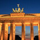 Brandenburg Gate 2 by Rosalee Lustig