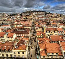 Streets Of Lisbon by manateevoyager