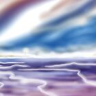 Digital Airbrush Sea picture version 2 by Grant Wilson