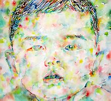 CHILD - watercolor portrait by lautir