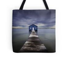 The Blue Boatshed Tote Bag