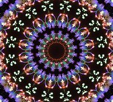 Fireworks kaleidoscope mandala 1 by ImagoMoth