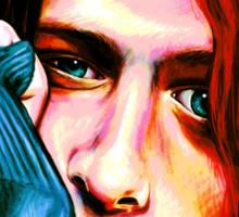 Kurt Cobain - Ultra Color Version Sticker